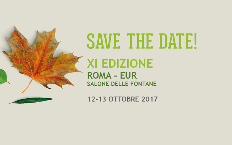 Le date del Forum CompraVerde-BuyGreen 2017