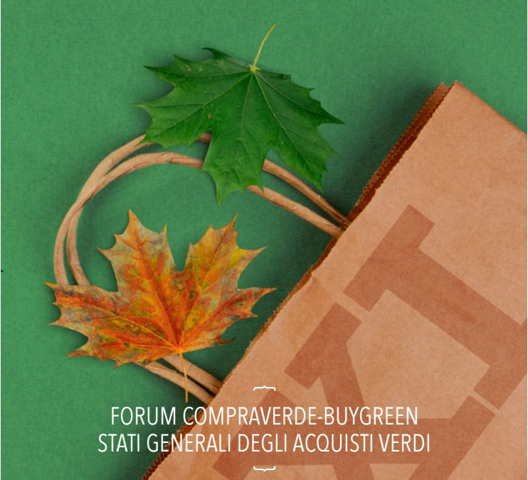 Online la Brochure del Forum CompraVerde BuyGreen 2017