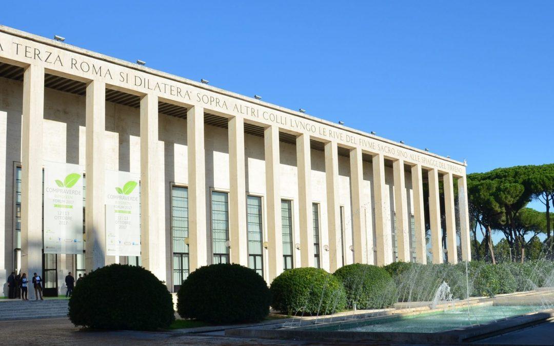 Inaugurata a Roma l'XI edizione del Forum CompraVerde-BuyGreen