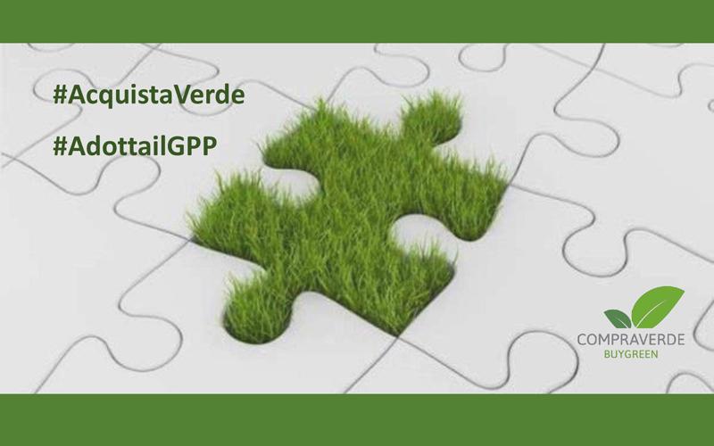 Acquista verde, adotta il GPP