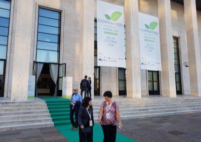Al CompraVerde 2018 il Presidente Zingaretti racconta le politiche greendella Regione