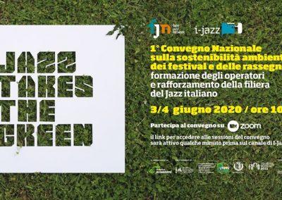 Jazz Takes The Green, la sostenibilità ambientale dei festival e rassegne jazz