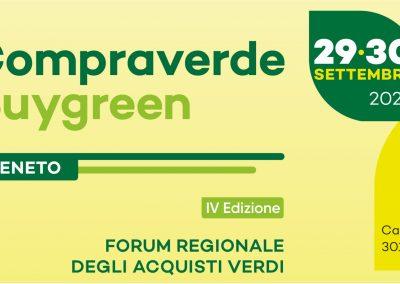 Compraverde Veneto, in arrivo a Venezia il forum regionale degli acquisti verdi
