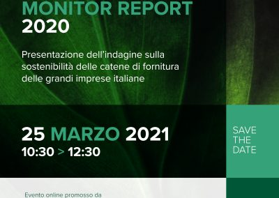Evento di presentazione del Sustainability Monitor Report