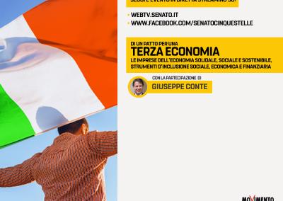 Un Patto per una Terza Economia, sostenibile e inclusiva
