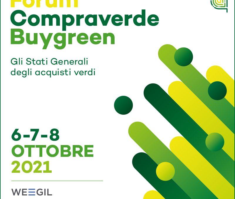 Forum Compraverde 2021: si apre il 6 ottobre con Recovery Plan e Transizione Ecologica