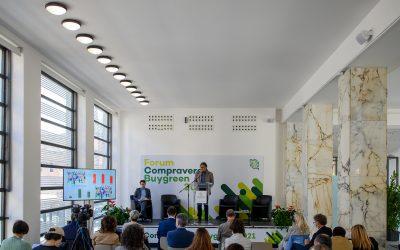 Al Forum Compraverde Buygreen i numeri del GPP 2021 in Italia, cresce l'applicazione dei CAM